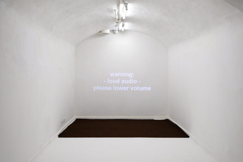 Visite de l'Espace Rossetti par Isabelle Sordage, artiste et directrice du lieu © Philippe Pallanti