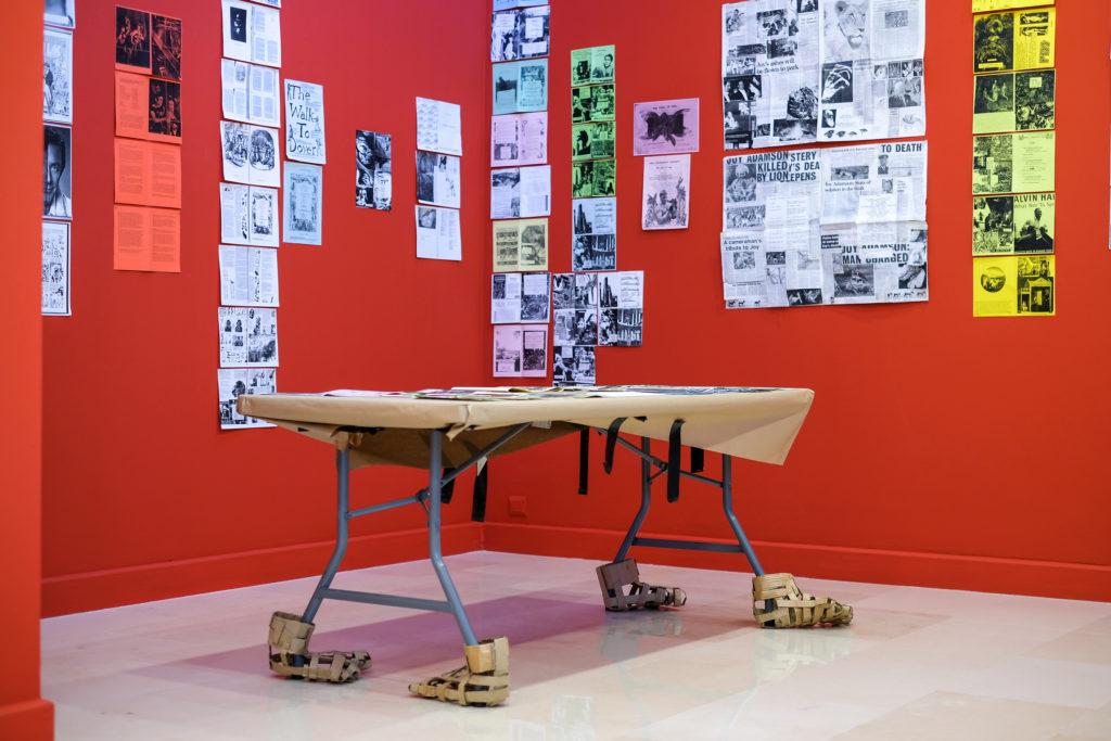 Visite de l'exposition « Monster Rebellion » de Monster Chetwynd à la Villa Arson, par Auréliane Lombardo © Philippe Pallanti