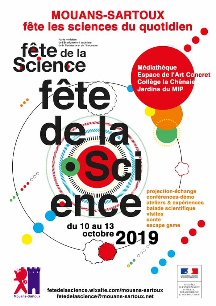 Fête de la science 2019à l'eac.