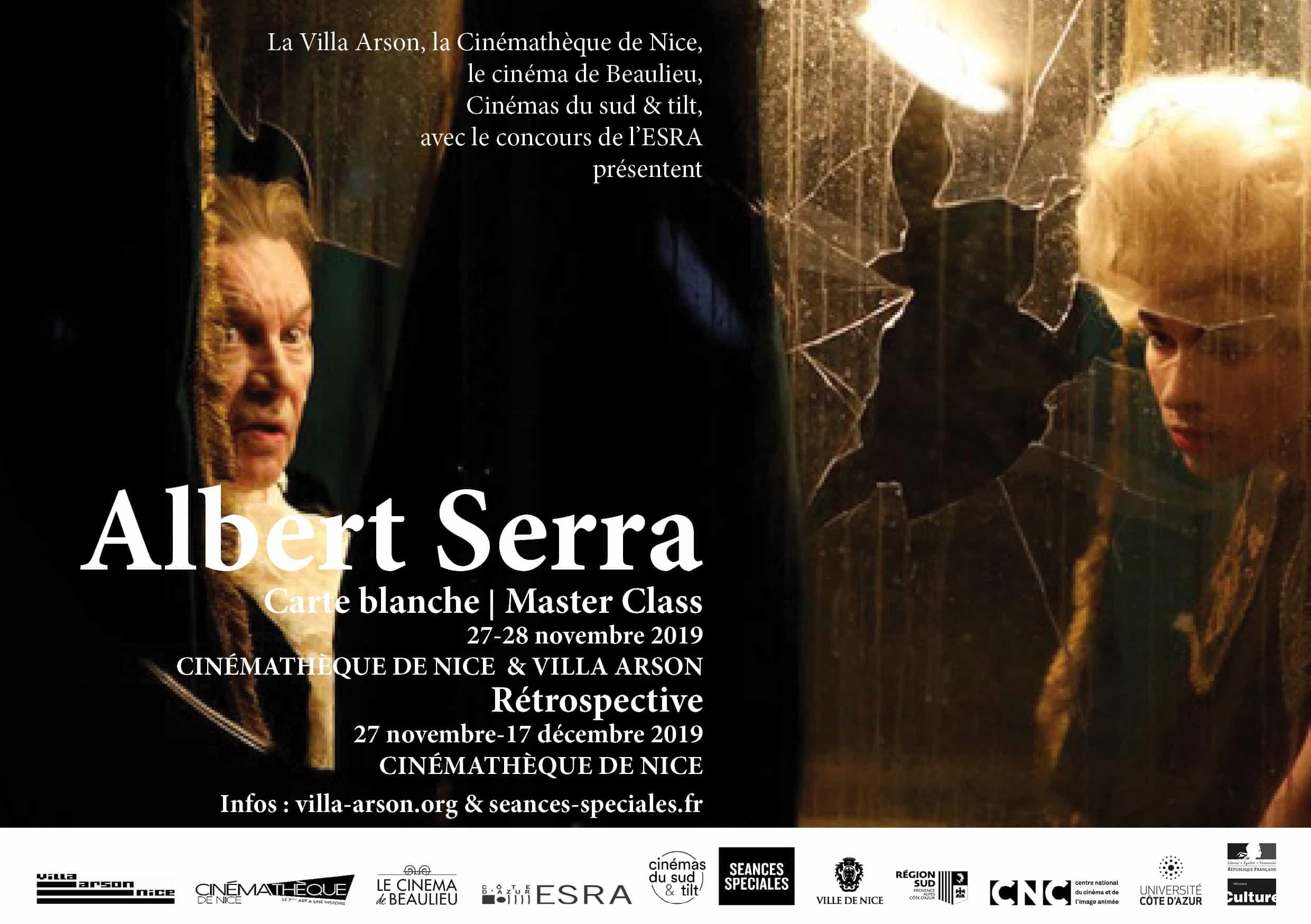 ALBERT SERRA | Master Class, Rétrospective & Carte blanche