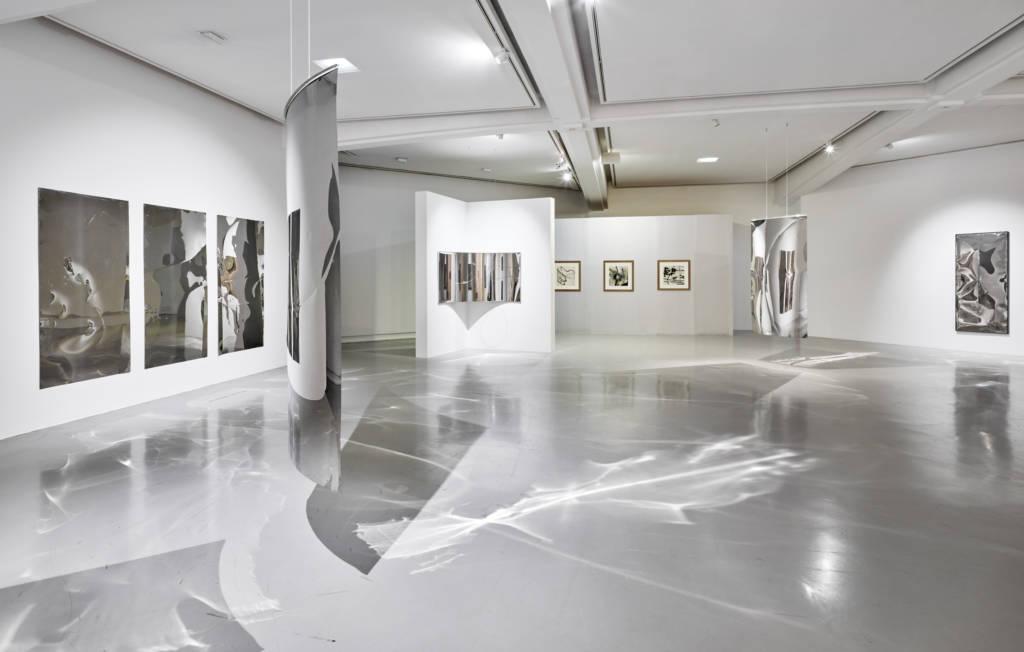 Vue d'exposition Salle Espaces virtuels