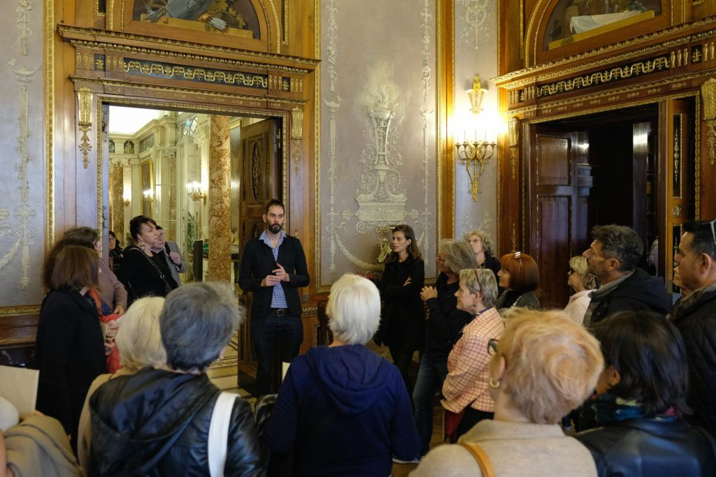 Vidéos de Laurent Fiévet au Musée Masséna, présentées par l'artiste © Evelyne Creusot