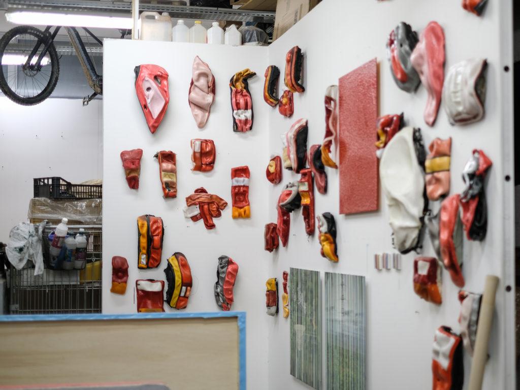 Visite de l'atelier de Cédric Teisseire à La Station © Philippe Pallanti