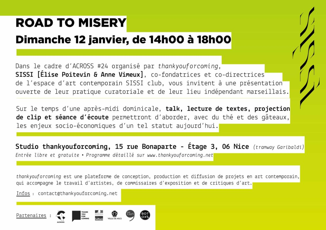 Rencontre & plus avec SISSI, ROAD TO MISERY