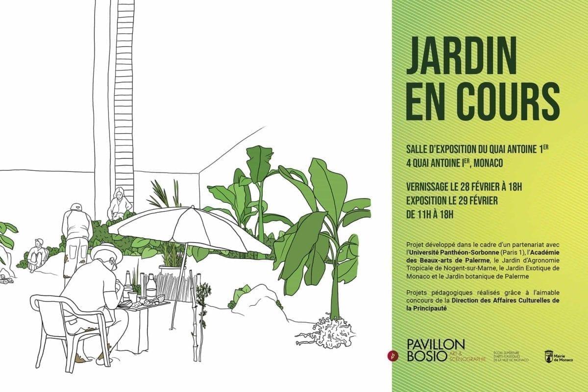 Exposition Jardin en cours