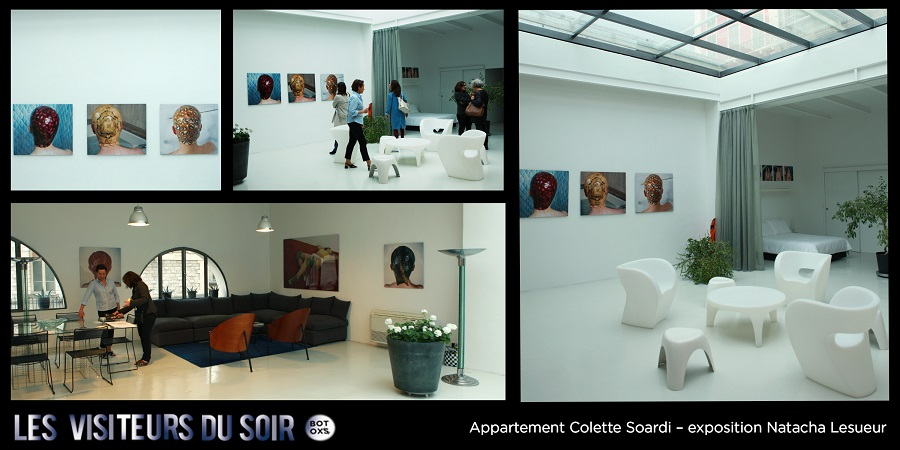 Appartement Colette Soardi – exposition Natacha Lesueur © Julien Mc Laughlin