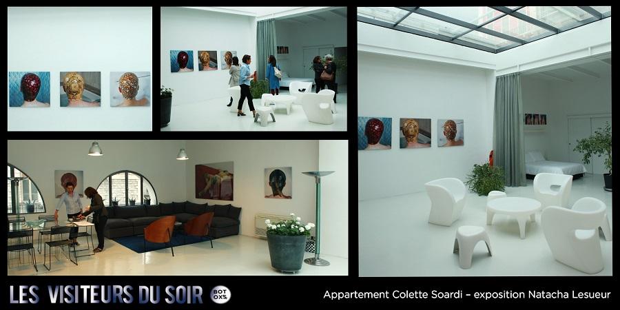 Appartement Colette Soardi – exposition Natacha Lesueur © Julien Mc Laughlin