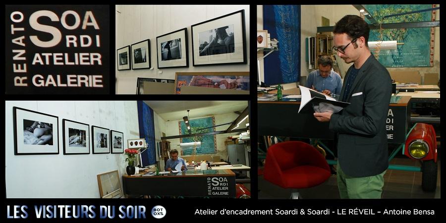Atelier d'encadrement Soardi & Soardi LE RÉVEIL – Antoine Bensa © Julien Mc Laughlin