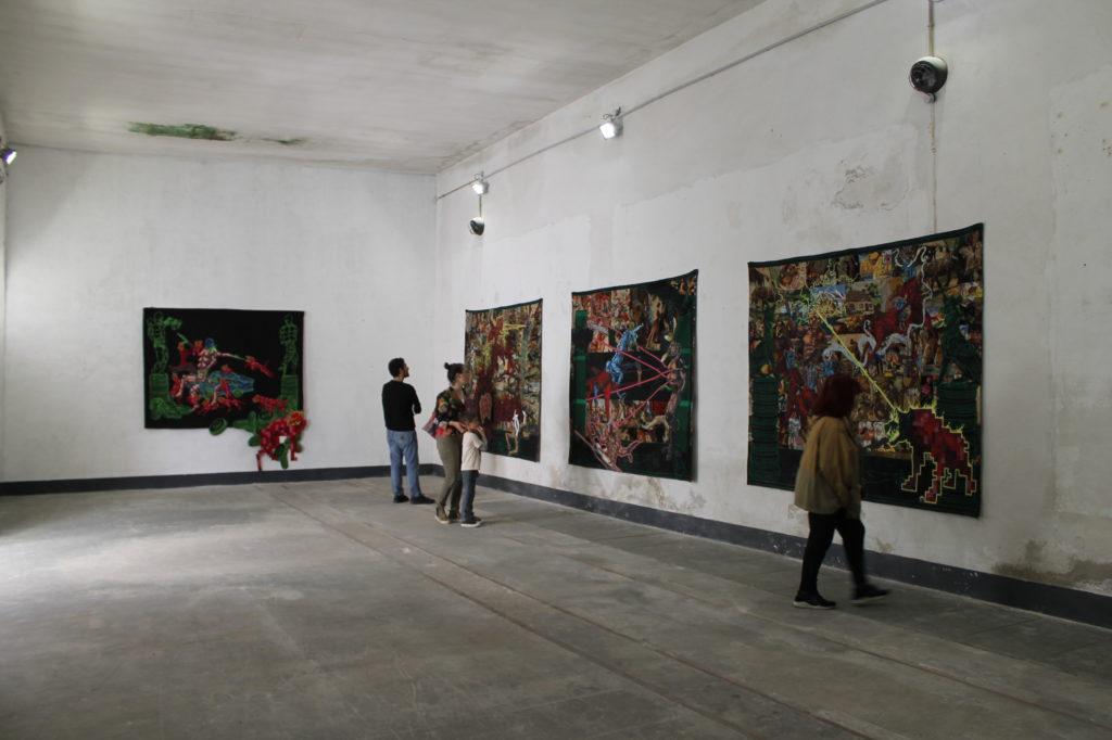 Espace à Vendre – Exposition « Mégathesis ou la possibilité du héros » de Lucien Murat © Marie Ceria