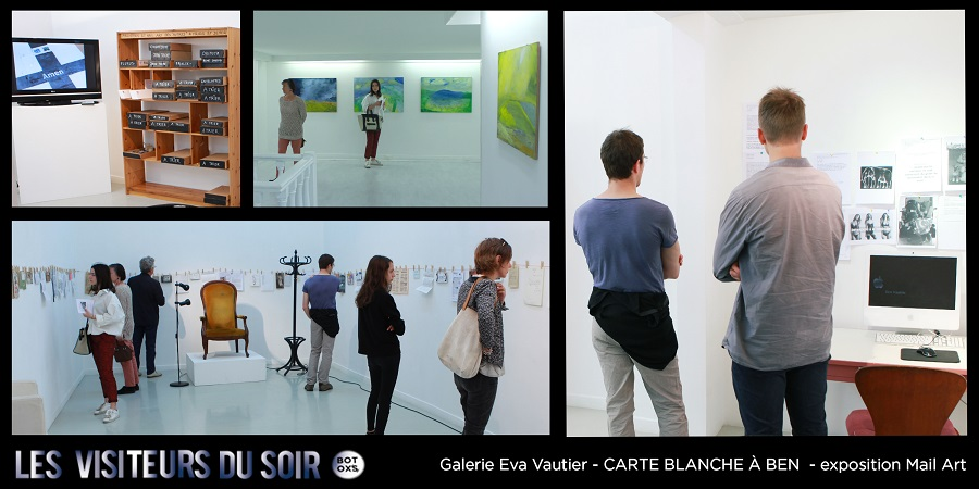 Galerie Eva Vautier CARTE BLANCHE À BEN © Julien Mc Laughlin
