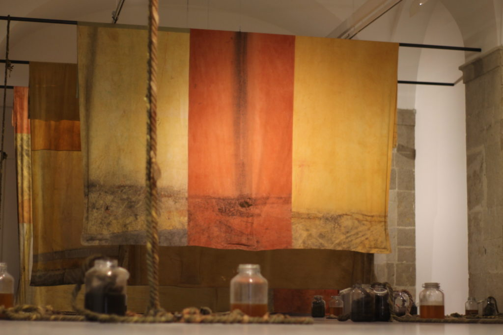 Galerie des Ponchettes – Exposition « Mnemosyne » d'Adrien Vescovi © Marie Ceria