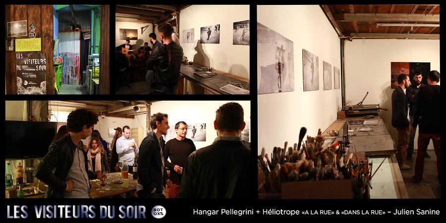 Hangar Pellegrini + Héliotrope «A LA RUE» & «DANS LA RUE» – Julien Sanine © Julien Mc Laughlin