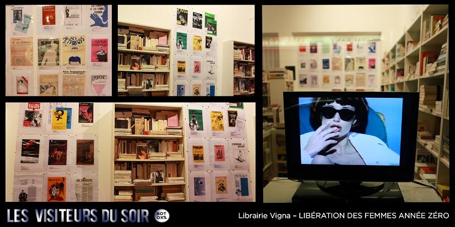 Librairie Vigna – LIBÉRATION DES FEMMES ANNÉE ZÉRO © Julien Mc Laughlin