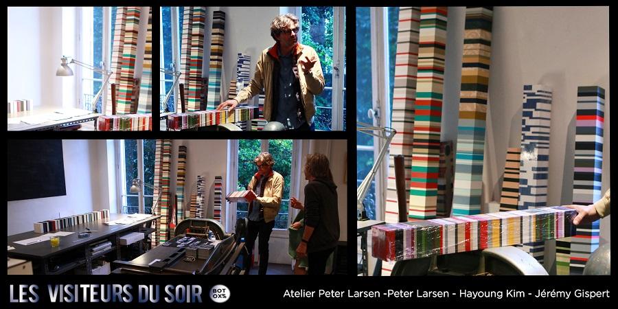 Atelier Peter Larsen exposition de PETER LARSEN HAYOUNG KIM ET JÉRÉMY GISPERT © Julien Mc Laughlin