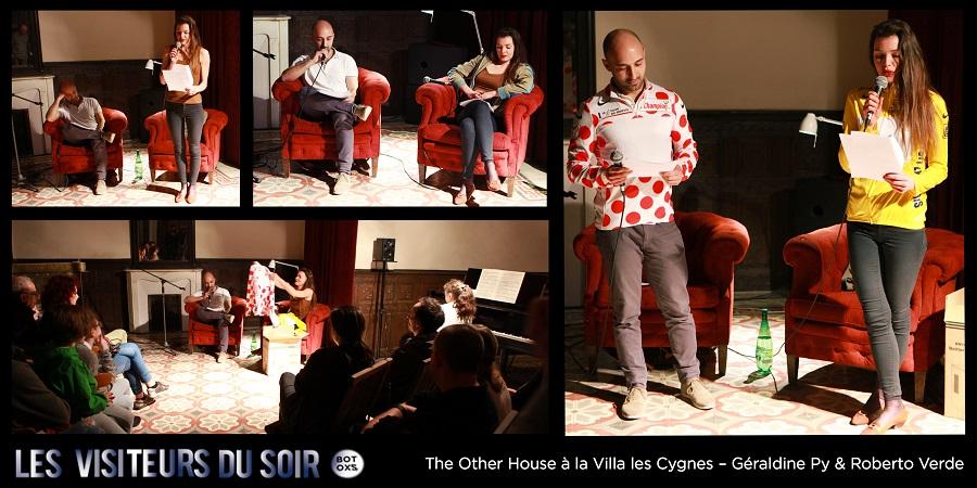 The Other House à la Villa les Cygnes – LE MANI VUOTE – Géraldine Py & Roberto Verde © Julien Mc Laughlin