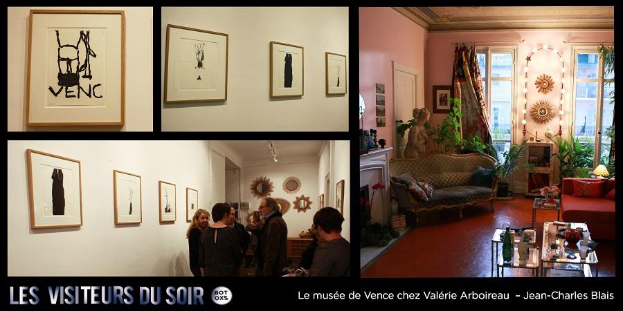 Le musée de Vence chez Valérie Arboireau SÉRIE VENC – Jean-Charles Blais © Julien Mc Laughlin
