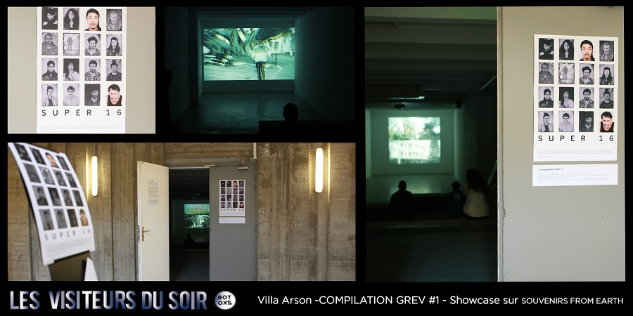 Villa Arson -COMPILATION GREV #1- UN SHOWCASE DE 48H SUR SOUVENIRS FROM EARTH © Julien Mc Laughlin
