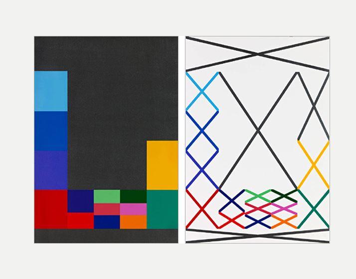 Jean-François Dubreuil, QXH2 Neue Zürcher Zeitnug n°54 des 6-07/03/2010 FNAC 2012 - 133 (1 et 2) Centre national des arts plastiques - Espace de l'Art Concret- Donation Albers-Honegger @droits réservés