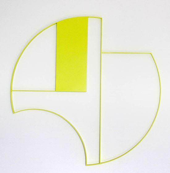 Gottfried Honegger, Z1648, 2013 @droits réservés. En cours de donation au centre national des arts plastiques pour l'Espace de l'Art Concret - Donation Albers-Honegger