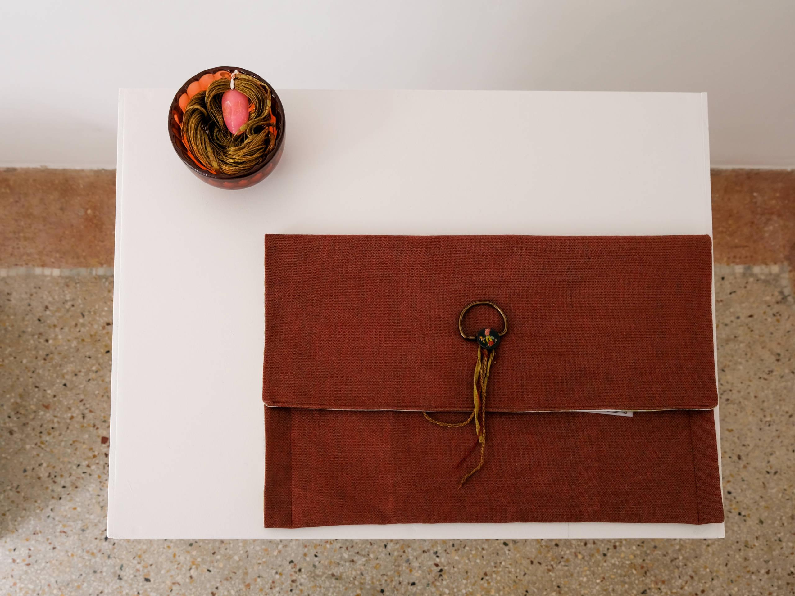 """""""Pièces racontées"""", rencontre avec l'artiste Alexandra Ferrarini et Carine Micheli, Le 22 © Evelyne Creusot"""