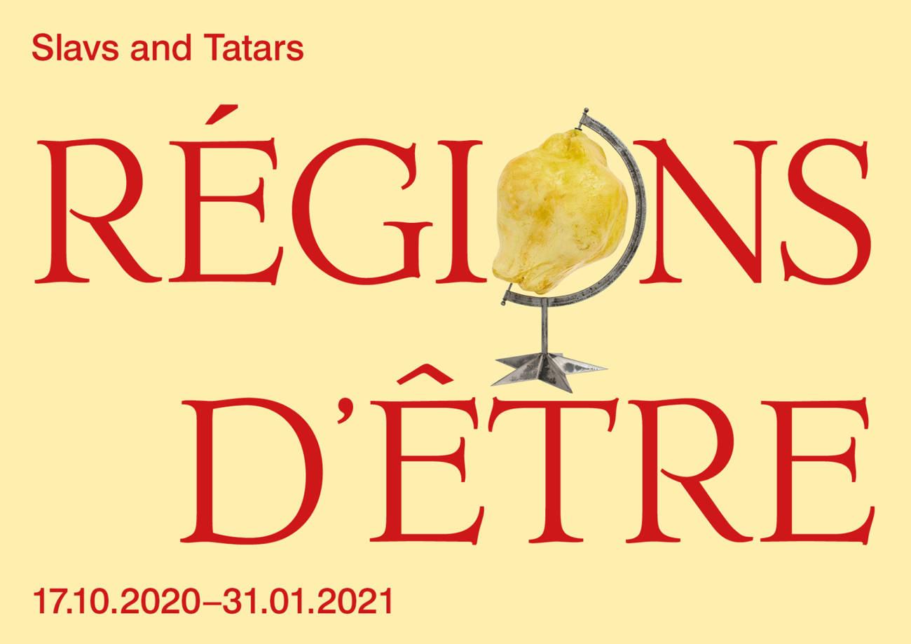 Slavs and tatars Régions d'être