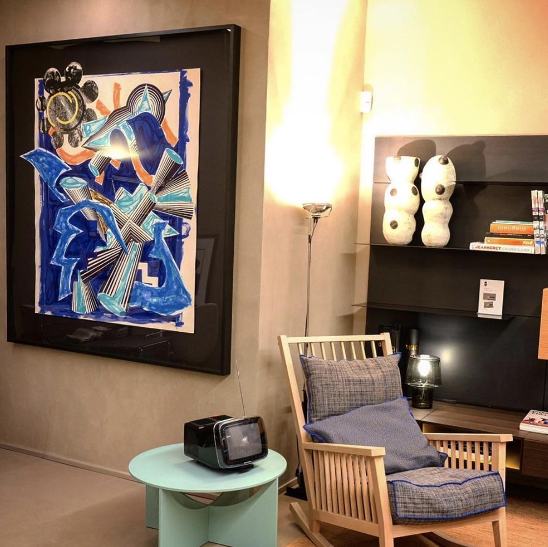 Accrochage «Intérieur de Collectionneur» – Bel Oeil Nice et Monaco