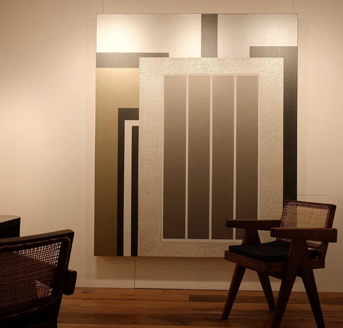 Peter Halley à la Galerie Retelet