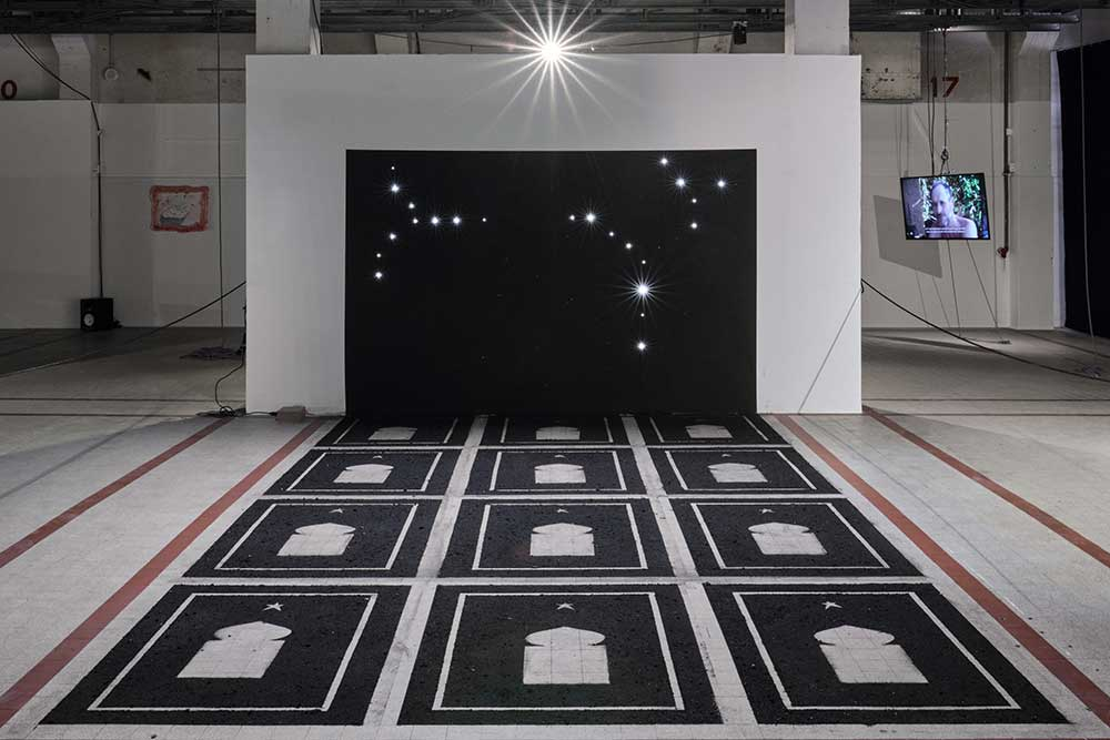 •• Mounir Gouri, Constellation, 2020 © Luc Bertrand