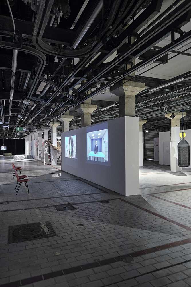 L'Effet Domino, Le 109, Vue d'exposition © Luc Bertrand