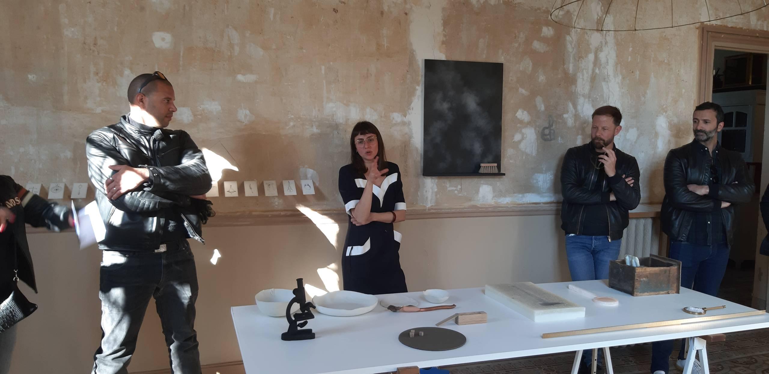 Objets inanimés, Exposition collective, 2020 - vue d'exposition, Villa Henry ©Circa