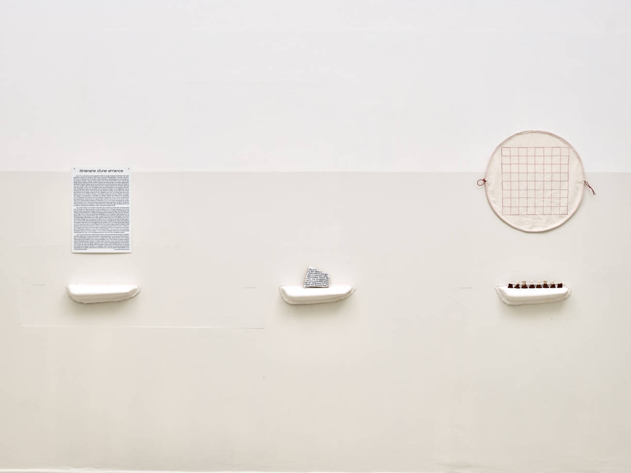 © Projet Nomade, Galerie Eva Vautier, 2021, Photo François Fernandez