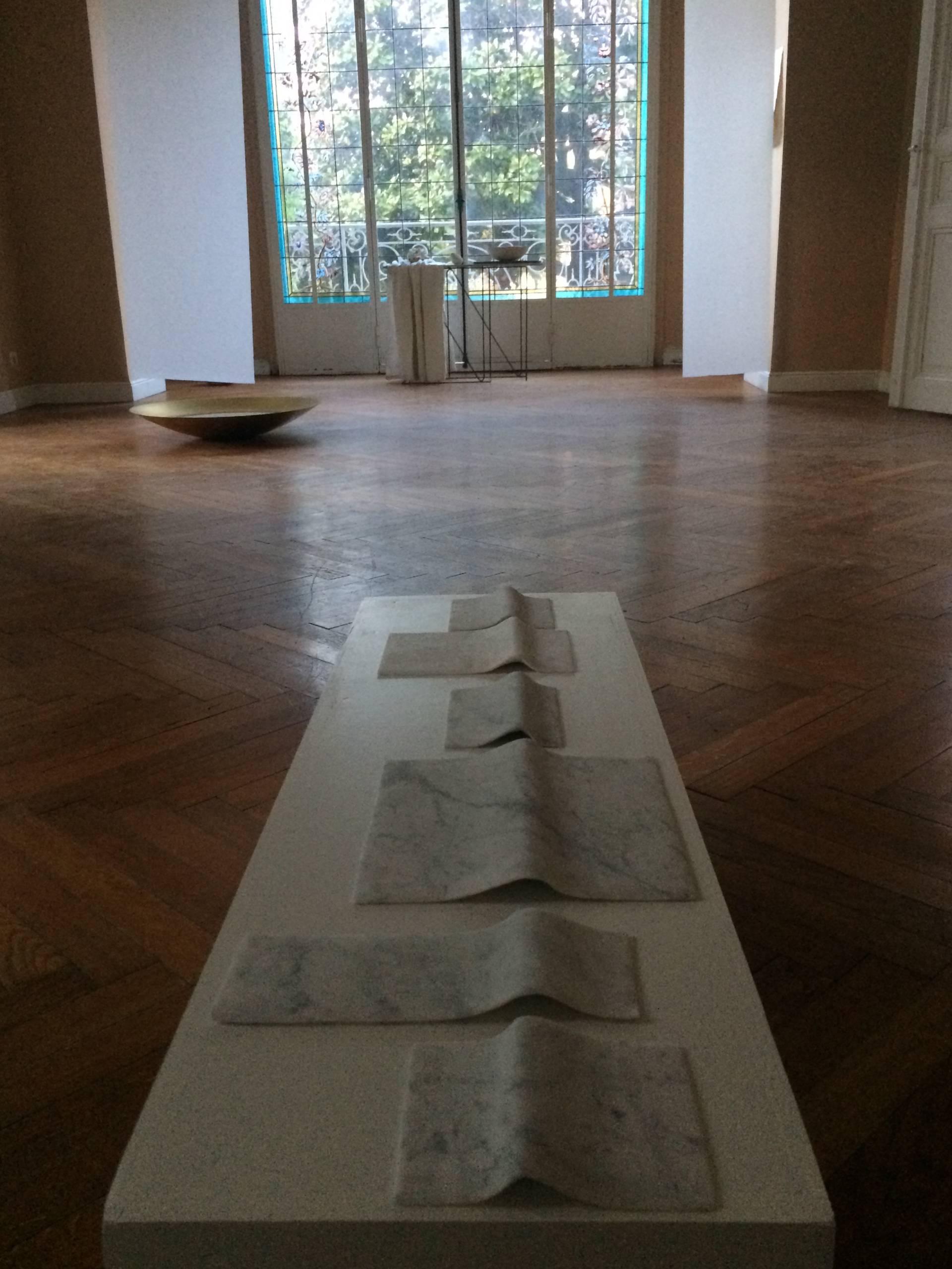 Biennale ELEMENTA #1, exposition collective, 2019 - vue d'exposition, Villa Adelaïda, Nice - Photo : Eve Pietruschi ©Circa