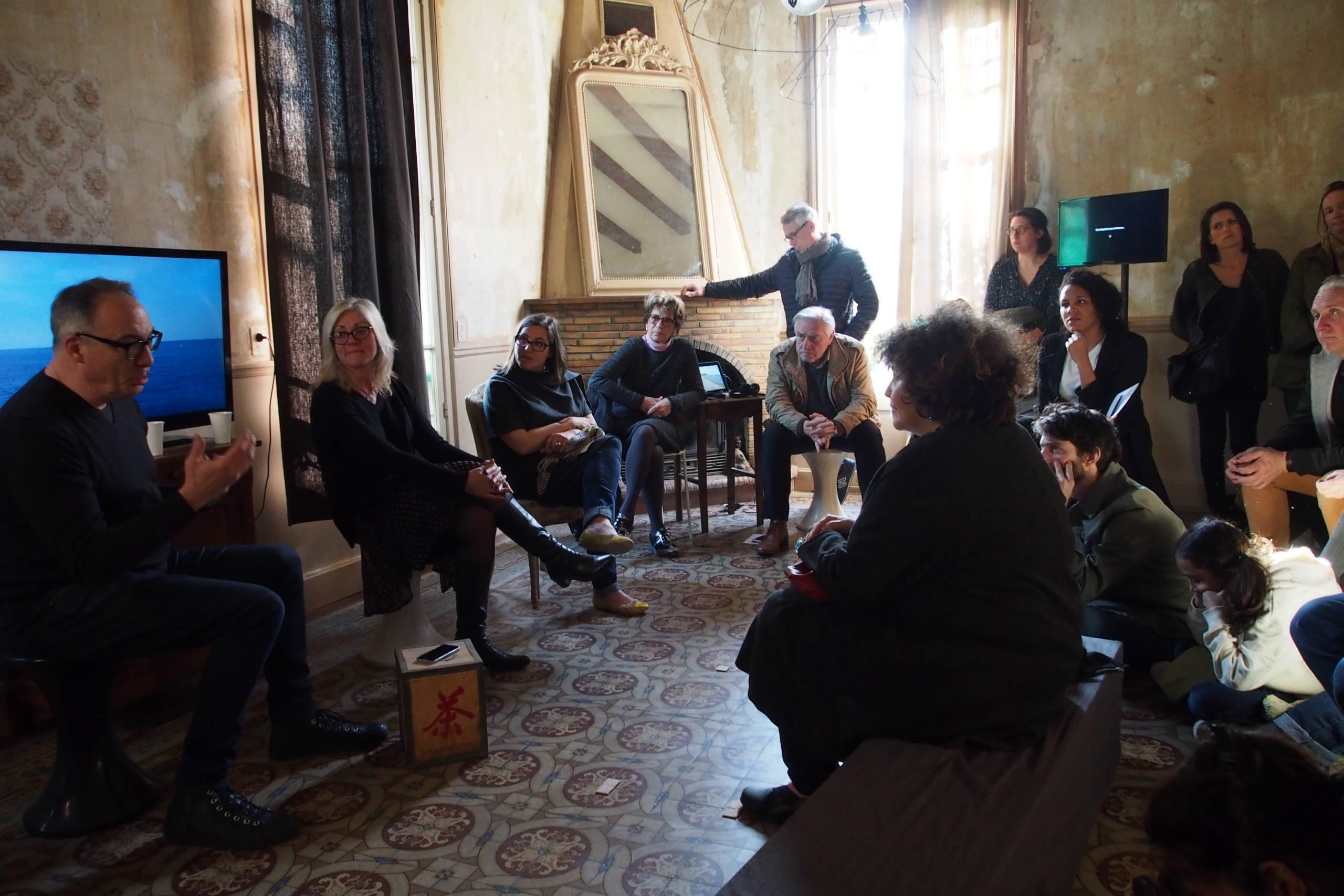 Machinal, Thierry Fournier, 2018 - vue de vernissage, Villa Henry Photo : Sandra Rivelin-Rinaudo ©Circa