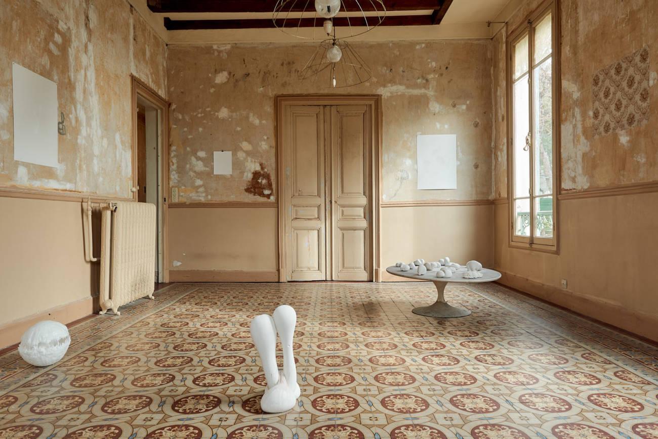 Galatée, Corps ductile, Delphine Mogarra, 2019, Villa Henry - Photo : Anthony Lanneretonne ©Circa