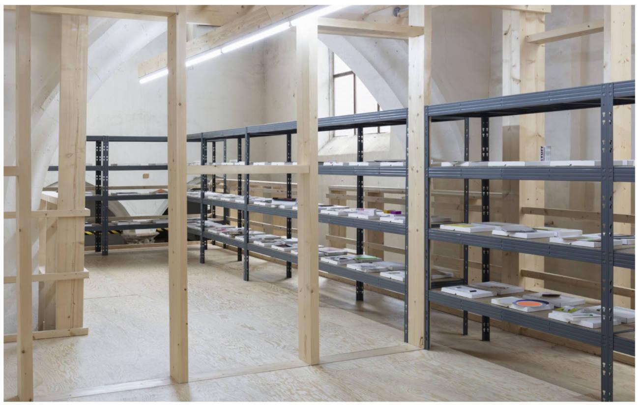 Vue de l'exposition à la Khunsthal Gent, Belgique, 2019, Production Maba, photo © Aurélien Mole, Courtesy de Syndicat