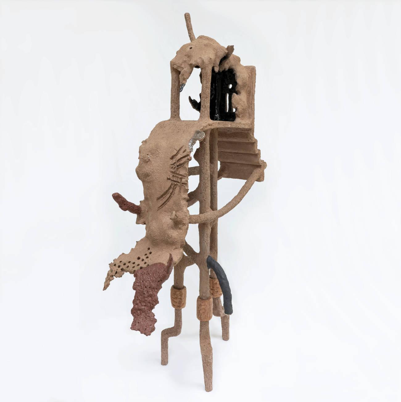 Gautier Ferrero, Swara, 2020, Céramique. Courtesy de l'artiste et de la galerie Catherine Issert