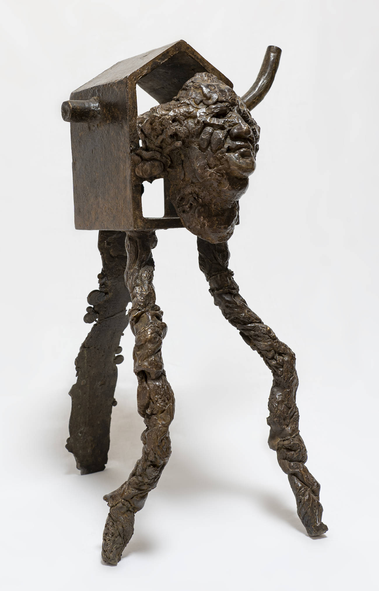 Gautier Ferrero, Kodama, 2020, Bronze. Courtesy de l'artiste et de la galerie Catherine Issert