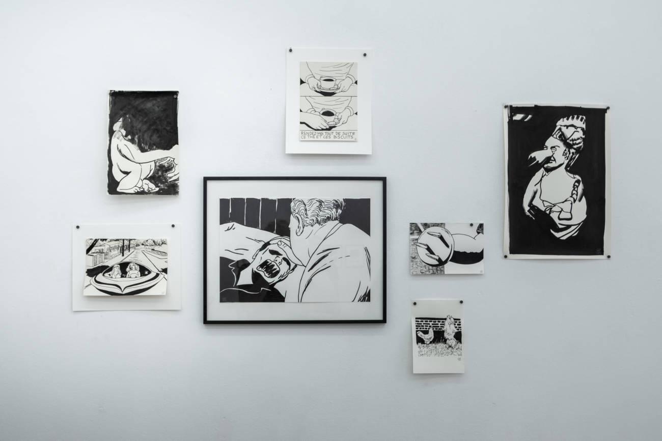 Exposition Arnaud Maguet & Guests, œuvres de Pierre La Police Espace à Vendre © Philippe Pallanti