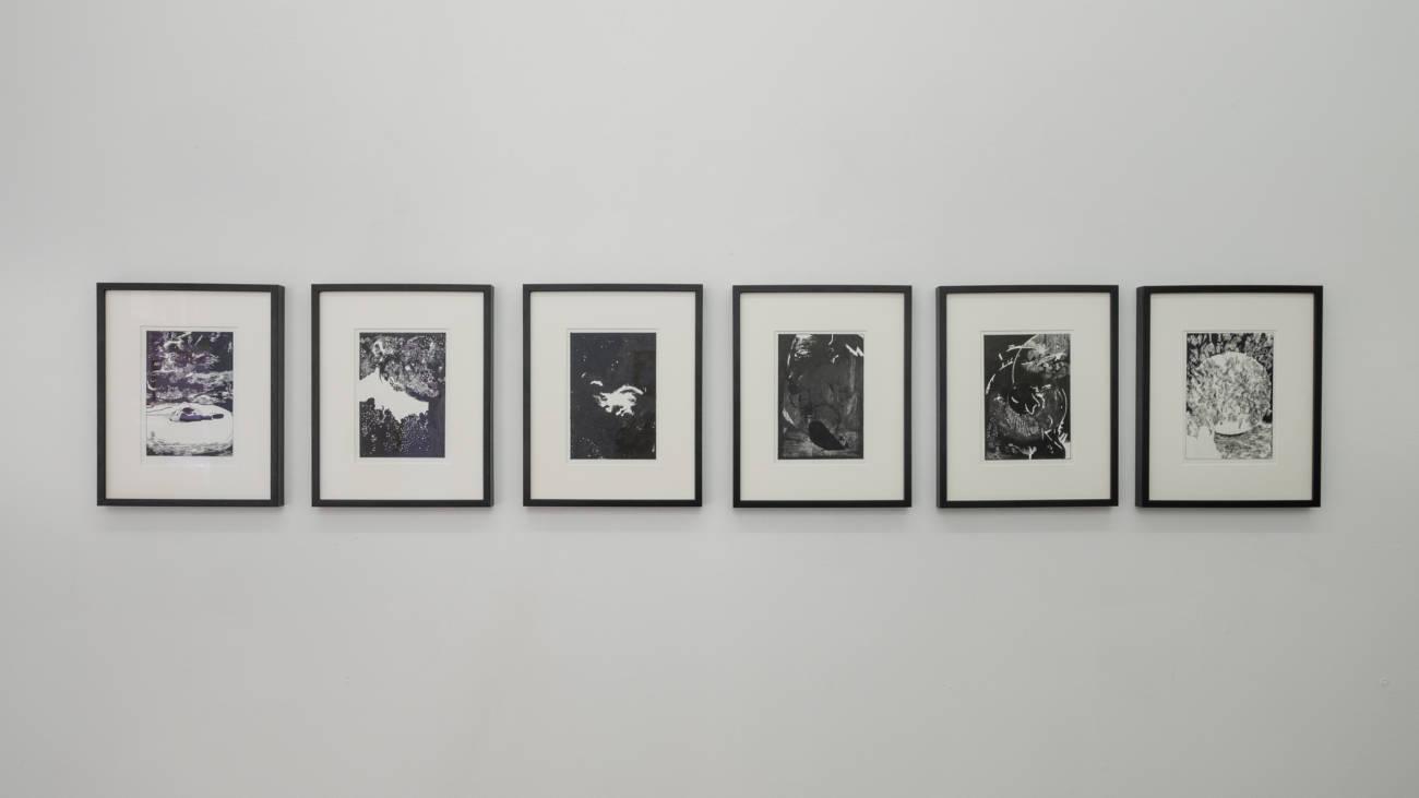 Œuvres de Julien Tiberi, Exposition Arnaud Maguet & Guests, Espace à Vendre © Philippe Pallanti