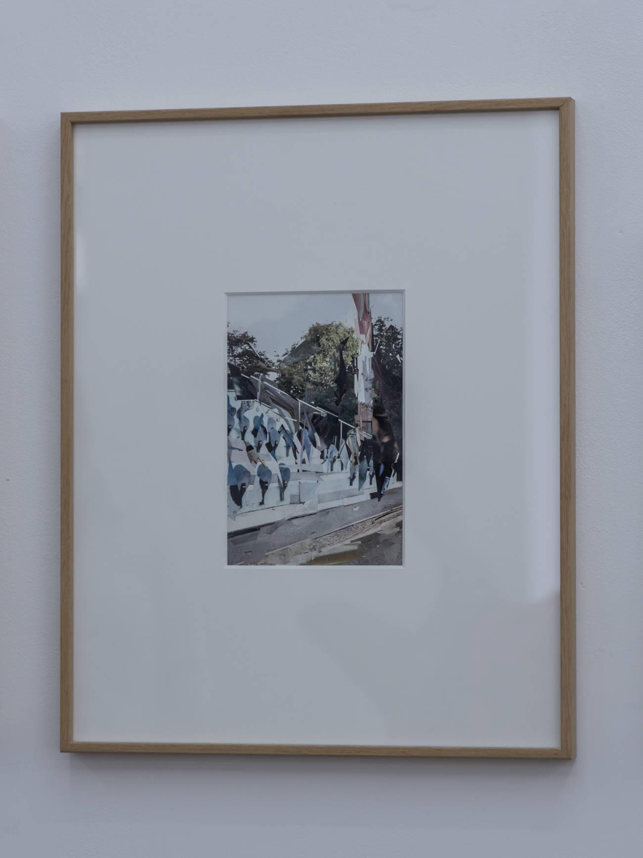 Œuvre d'Isabelle Rey, Espace à Vendre © Evelyne Creusot