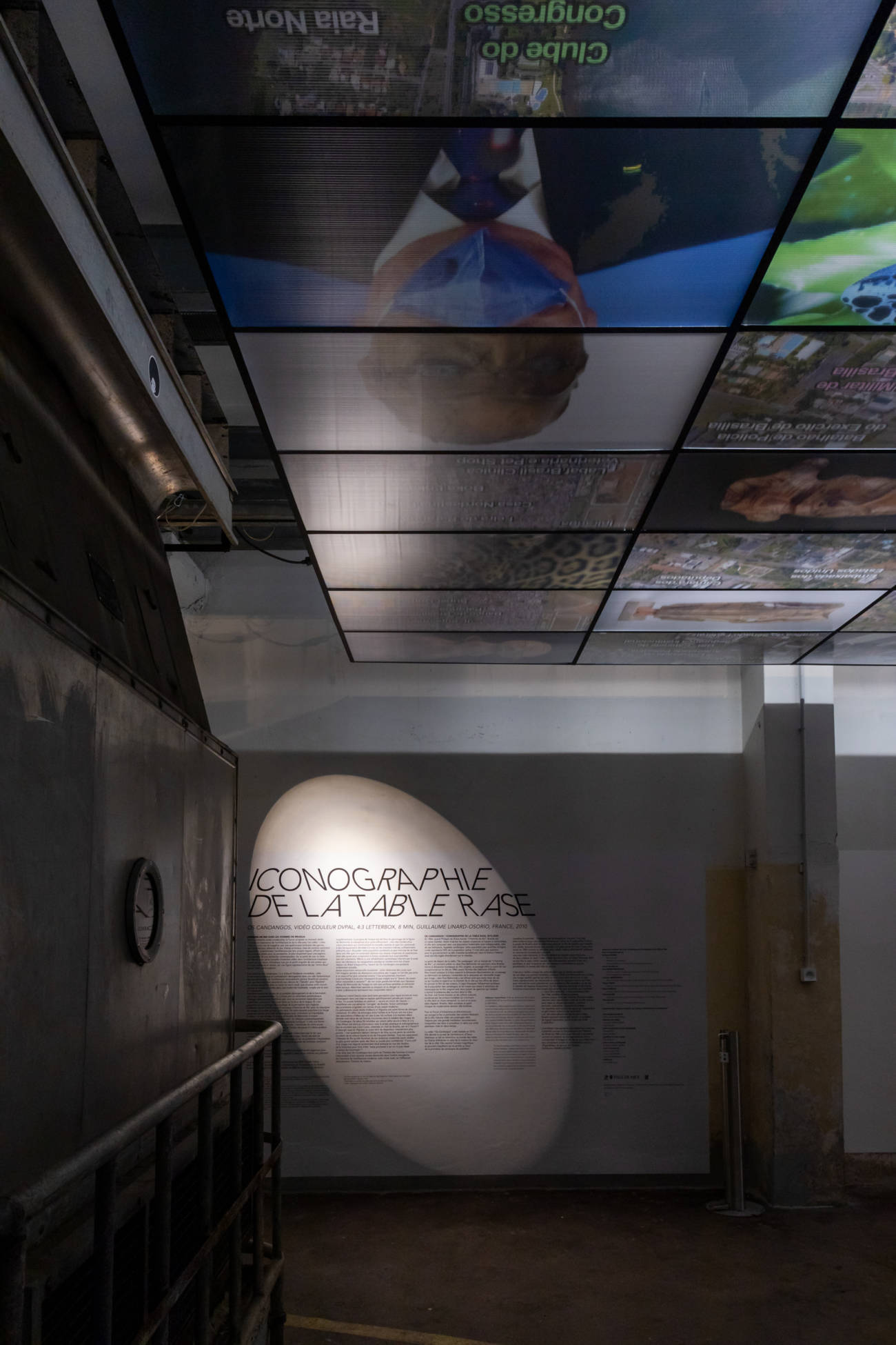 "Exposition ""Os Candangos"" de Guillaume Linard Osorio, au Forum d'Urbanisme et d'Architecture © Evelyne Creusot"