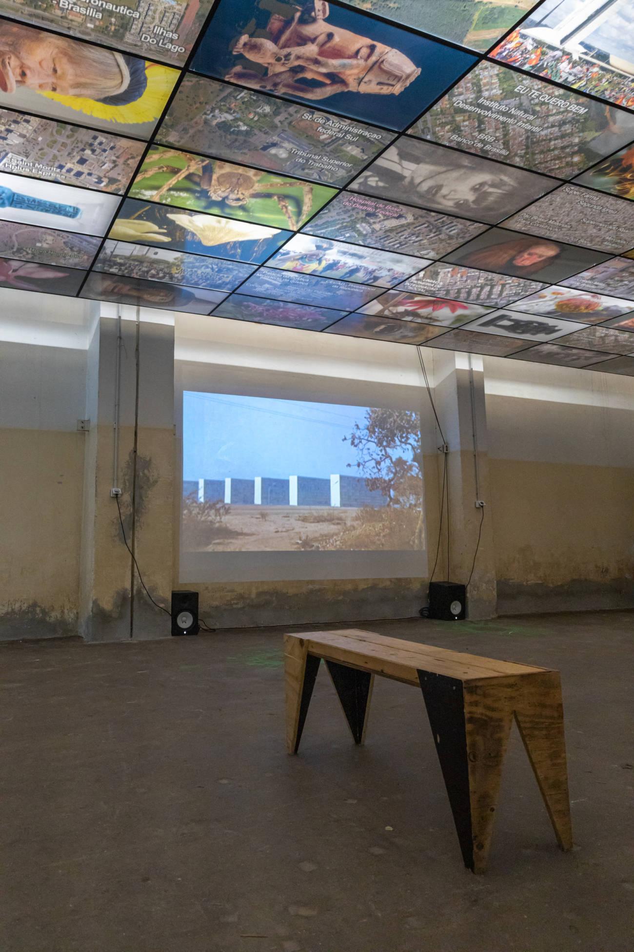 "Exposition ""Os Candangos""de Guillaume Linard Osorio, Forum d'Urbanisme et d'Architecture © Evelyne Creusot"
