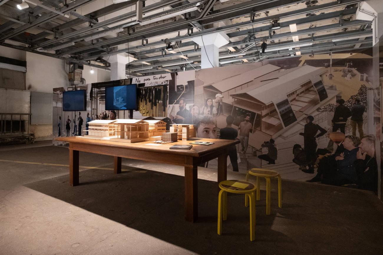 """Exposition """"Labor(ab)atoire"""" au Forum d'Urbanisme et d'Architecture © Philippe Pallanti"""
