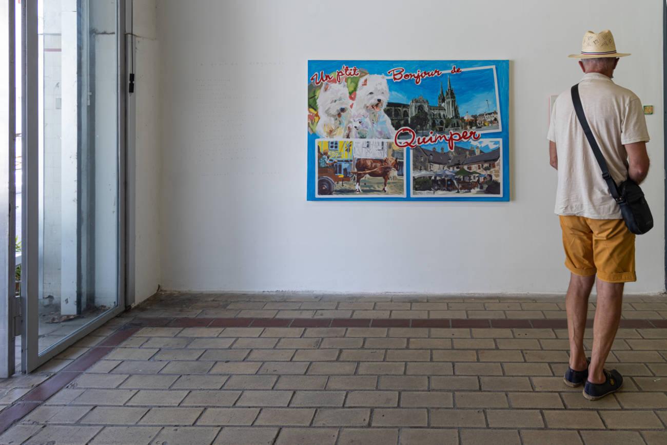 "Exposition ""La Grande Diagonale"", La Station © Evelyne Creusot"