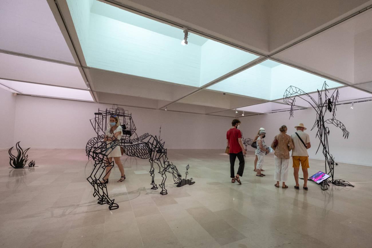 "Œuvres de Julie Béna, Exposition ""Miles"", Villa Arson © Philippe Pallanti"