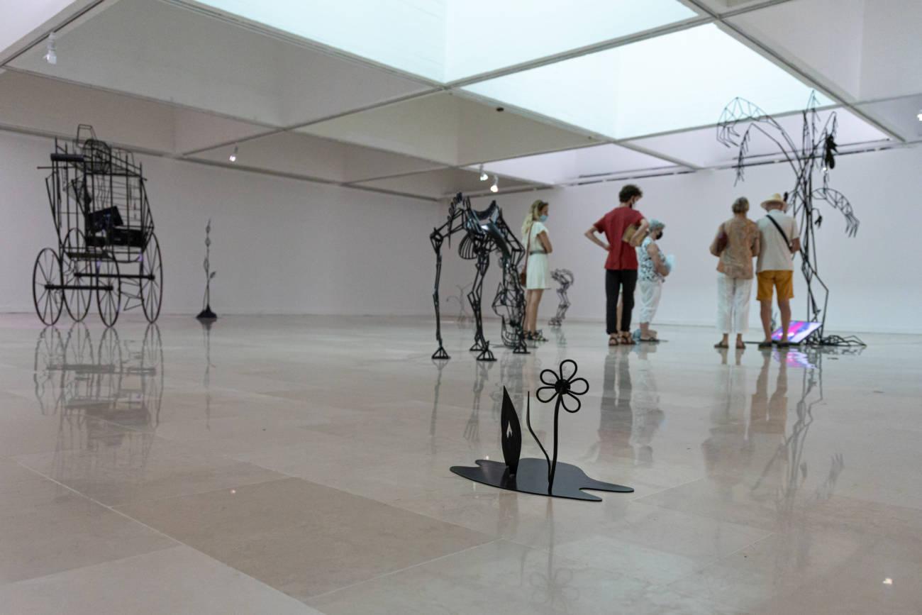 "Œuvres de Julie Béna, Exposition ""Miles"", Villa Arson © Evelyne Creusot"
