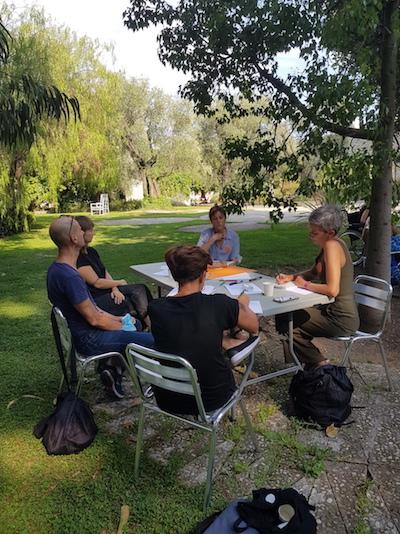 L'Assemblée des Valeurs, 8 et 9 septembre - Villa Arson Phase des négociations Ambassade des travailleurs.euses de l'art © Jérémy Kinderstuth
