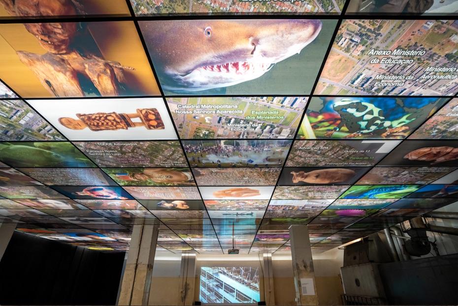 Exposition de Guillaume Linard-Osorio au Forum d'Urbanisme et d'Architecture © Julien Véran
